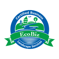 ECOBIZ Logo Food Growing, Organic Land Care, Home Construction, & Custom Landscapes