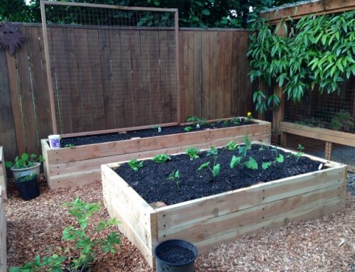 Raised bed bump-up